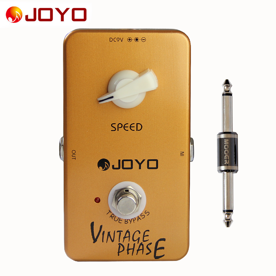 ФОТО JOYO JF-06 Vintage Phase effect guitar pedal+MOOER PC-S pedal connector guitar effect pedal