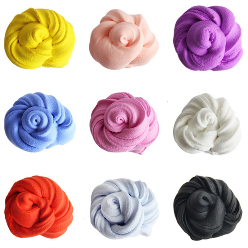DIY Slime Clay 20g Floam Slime Scented Stress Relief No Borax Kids Toy Sludge Cotton Mud to Release Clay Toy Plasticine Gifts
