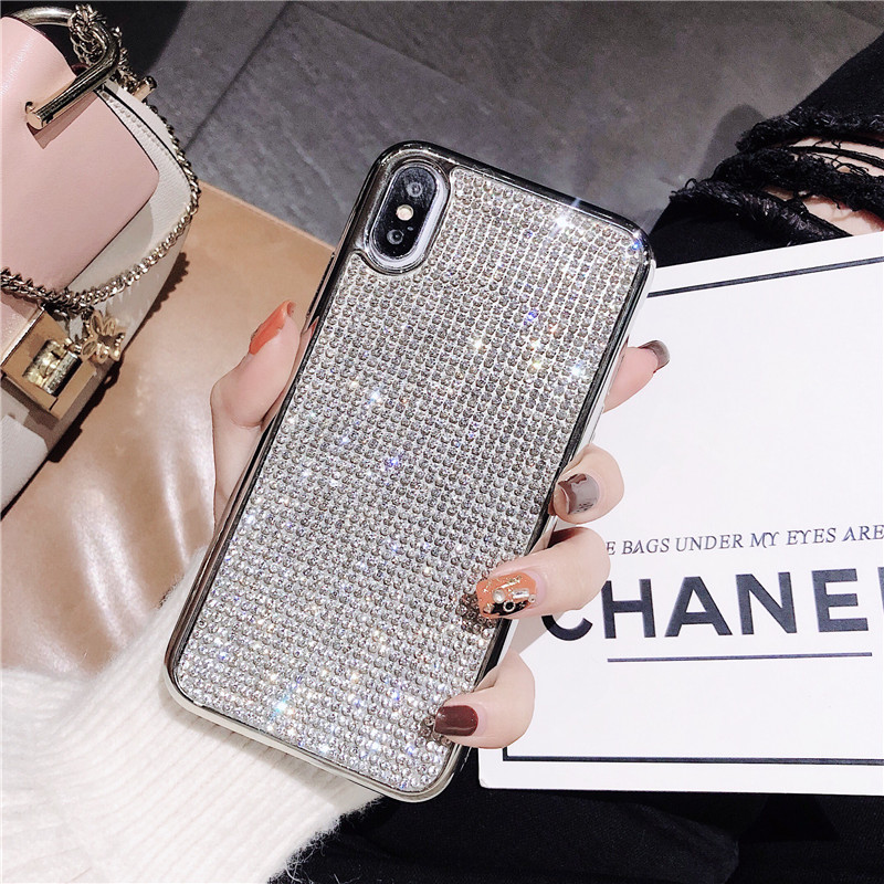 Rhinestone Bling Glitter Case for HUAWEI mate10 20 PRO P20 P20PRO Nova3 Soft Silicone TPU Diamond Sexy Girl Protector Back Cover
