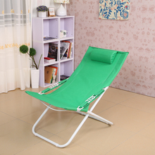 High quality simple modern folding chair lunch nap  deck chair cun beach  outdoor leisure chair free shipping