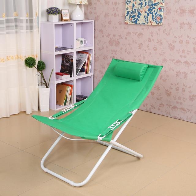 High quality simple modern folding chair lunch nap  deck chair cun beach  outdoor leisure chair free shipping