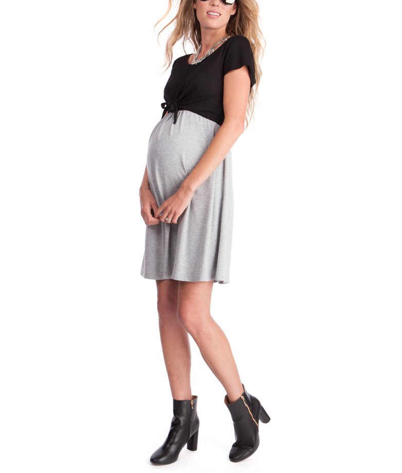 642858faf3 Maternity Sundress Nursing Dresses for Pregnant Women Short Sleeve  Breastfeeding Clothes Pregnant ropa premama WUA872203