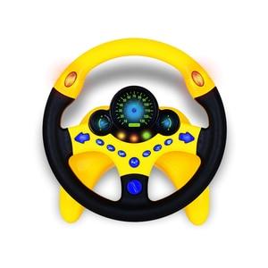 Image 3 - Oyuncak araba tekerleği çocuklar bebek interaktif oyuncaklar çocuklar direksiyon hafif ses ile simülasyon sürüş araba oyuncak eğitim oyuncak hediye