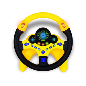 Image 3 - Toy car Wheel Kids Baby Interactive toys Children Steering Wheel with Light Sound Simulation Driving Car Toy Education Toy Gift