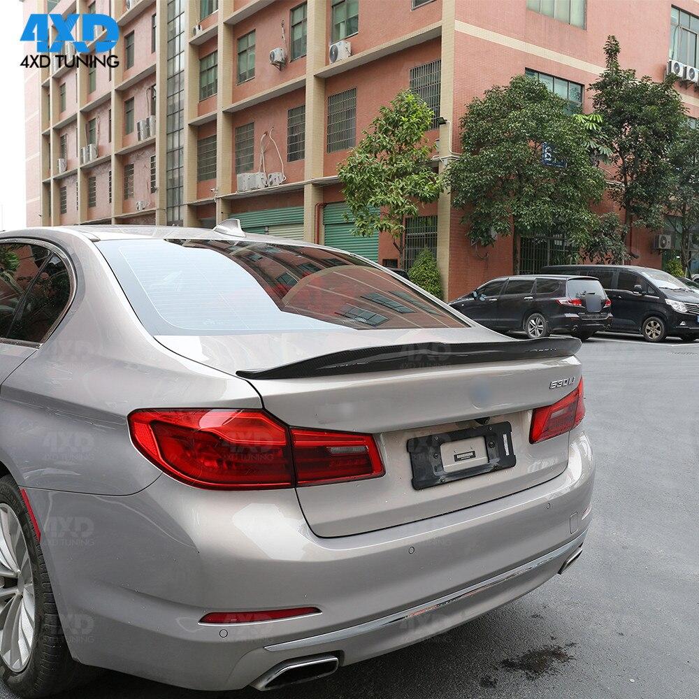 FOR 2017-19 BMW G30 530i 540i F90 M5 PERFORMANCE CARBON FIBER TRUNK SPOILER WING