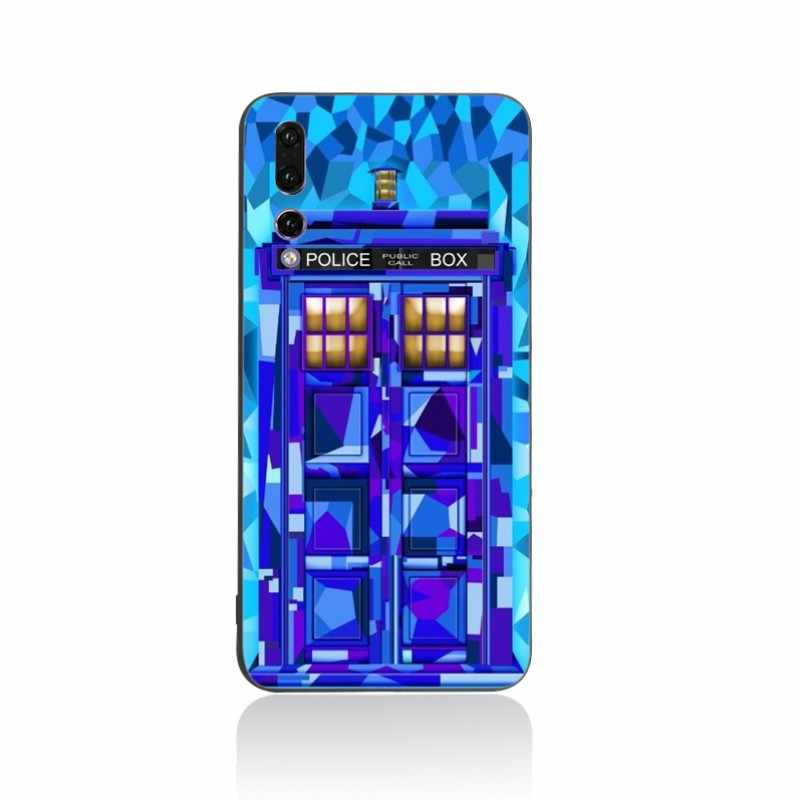 Yinuoda For Huawei P20 mobile phone case doctor who TV wallpaper Soft Cover  cases For honor9 10 V9 V10 P20pro P9 P10 P10 plus