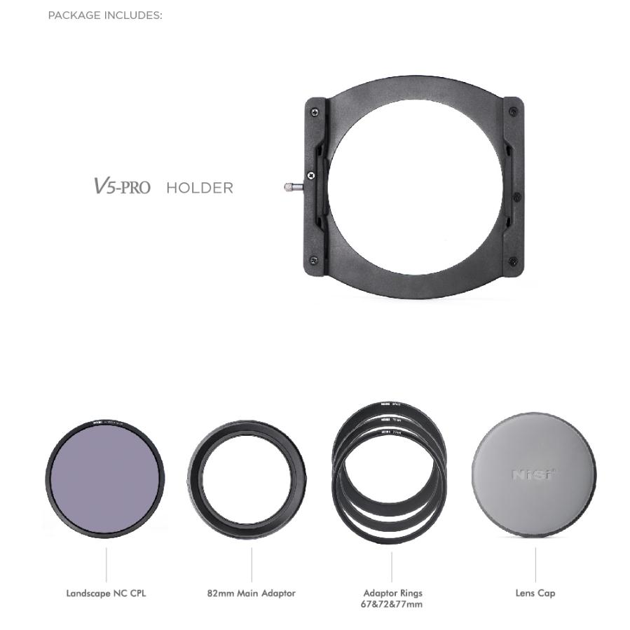Nisi 100mm Professional Filters Kit Iii V5 Pro 100100mm Nd8 64 1000 System All In One Case