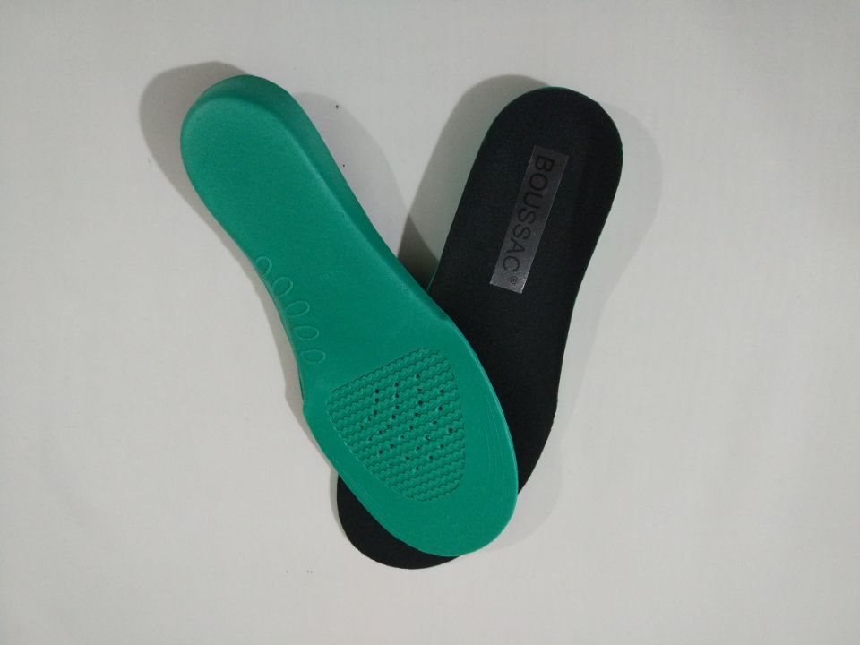 BOUSSAC Silicone gel insoles comfortable shoe insoles shock sole men insoles shoes pad pads inserts insert women massage insoles
