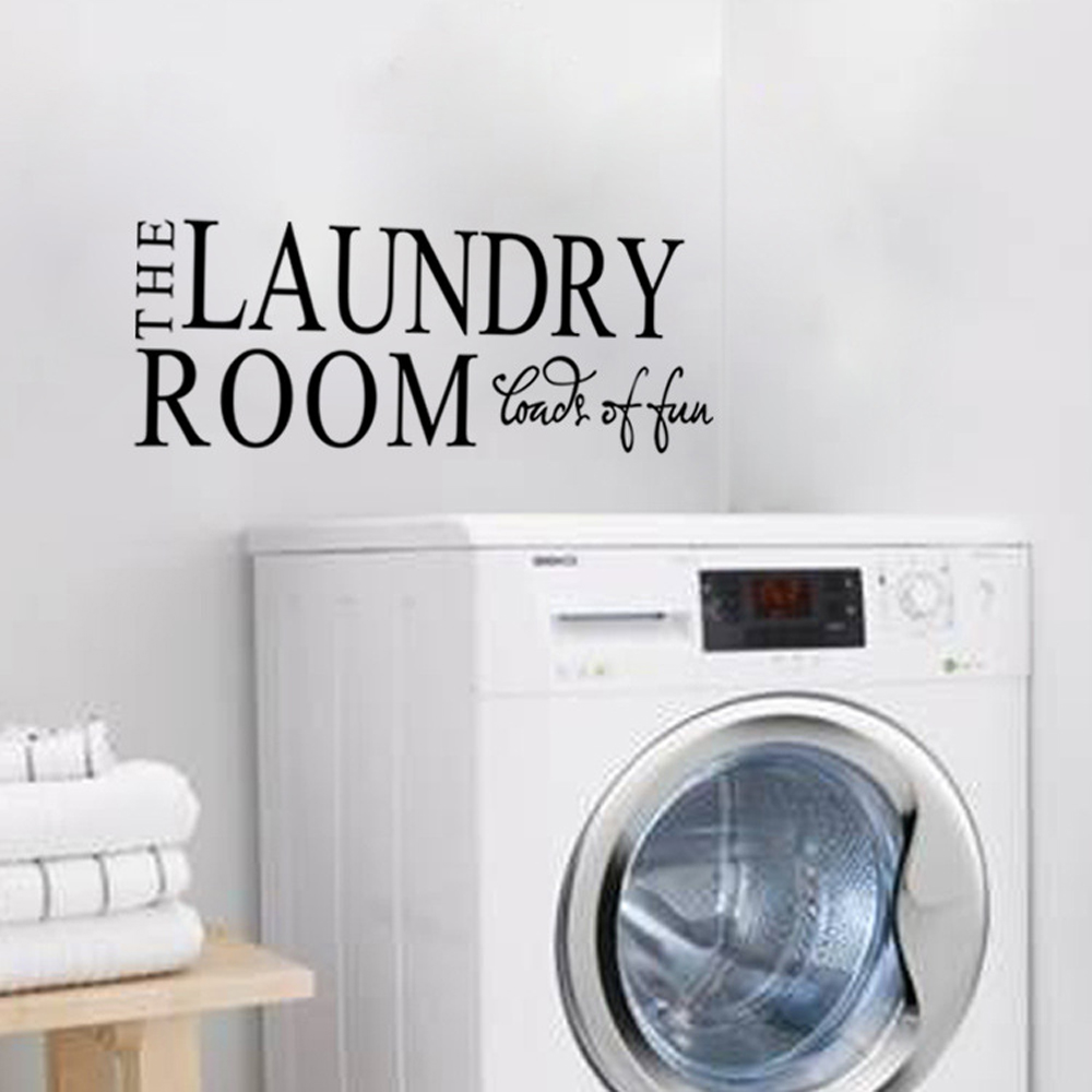 """Laundry Room Wall Sayings Mesmerizing The Laundry Room Fonds Of You"""" Quotes And Sayings Wall Decals Design Decoration"""