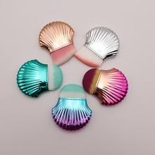 2018 Új 1db Smink Ecsetek Alapozó Porlasztó Alsó Cheek Brush Face Beauty Make Up Eszközök Hordozható Egyedi Kozmetikai Kefék