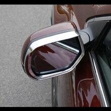 For Honda CRV CR-V accessories 2012-16 ABS Chrome Car rearview mirror block rain eyebrow Cover Trim Car Styling