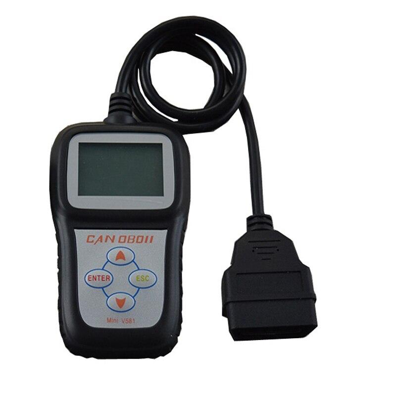 Usine En Gros MiniV581 Obd Scanner Automobile Lecteur de Code Obd2 Eobd Scan Voiture Outils Obd ii Mini V581 Moteur de Contrôle de