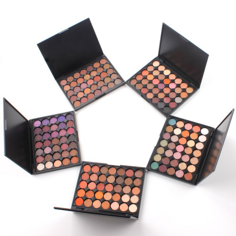 Silky 35 Color Eyeshadow Palette Powder Professional Make up