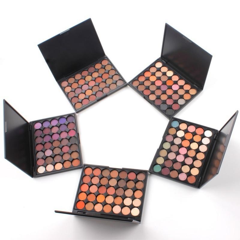 Silky 35 Color Eyeshadow Palette Powder Professional Make ups