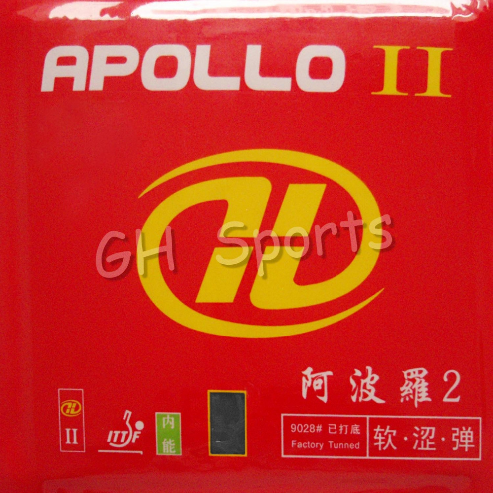 Galaxy Milky Way Yinhe APOLLO II Factory Tuned Black Pips-In Table Tennis PingPong Rubber With Sponge цена и фото