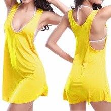 HWSexy Bikini Vest Jacket Beach Resort Skirt Women Swimsuit Summer Beach Dress new brand