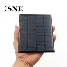 Panneau solaire 12V 18V Mini système solaire bricolage pour batterie chargeur de téléphone Portable 1.8W 1.92W 2W 2.5W 3W 1.5W 4.5W 5W cellule solaire