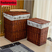 hot deal buy big laundry basket for clothes laundry basket wicker decorative storage baskets boxes cesta lavanderia panier rangement tissu