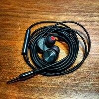 Nouvelle BOÎTE Audio T1 Dans L'oreille Écouteur Dynamique Pilote HIFI bruit Annulation Écouteurs Basse DJ Casque de Boules Quies pour iPhone xiaomi Samsung