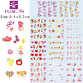 NEW 10Sheet/LOT Valentine Series Nail Tattoo Lovely NAIL STICKER nail decals FOR NAIL accessories+individually packaging