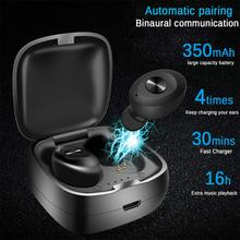 Wireless Earphones Bluetooth5.0 Earphone Mini Stereo Bass Headset Portable Noise Isolating Earbuds for Mobile Phone Dropshipping