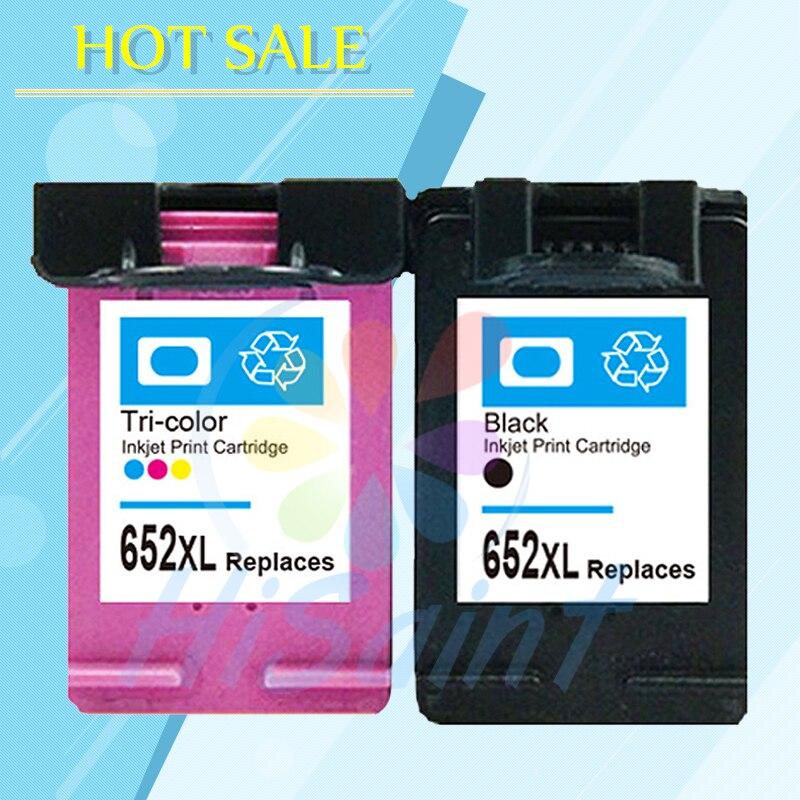 For HP 652 652XL Black Color Ink Cartridge for HP652 Deskjet 1115 1118 2135 2136 3635 3636 3638 4535 4536 4538 4675 4676 Printer
