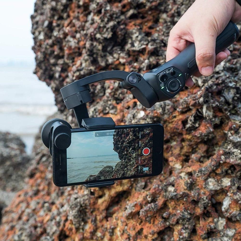 Snoppa atom 3-axis πτυσσόμενος αναδιπλούμενος βραχίονας selfie για smartphone gopro msow