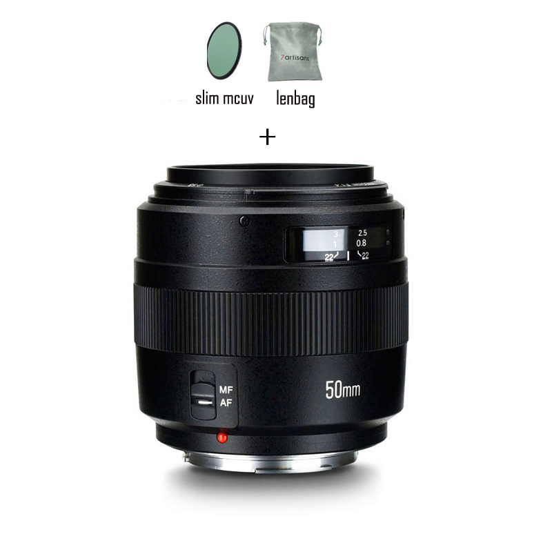 YONGNUO 50mm YN50mm F1 4 Standard EF Lens Large Aperture Automatic Focusing lens for Canon EOS