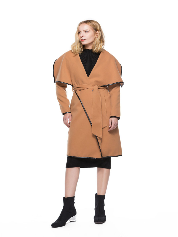 High Quality Long Windcheaters Bow Warme Winter Instagram Fashion Streetwear   Trench   Elegant Coats For Women Casual Clothing 2019