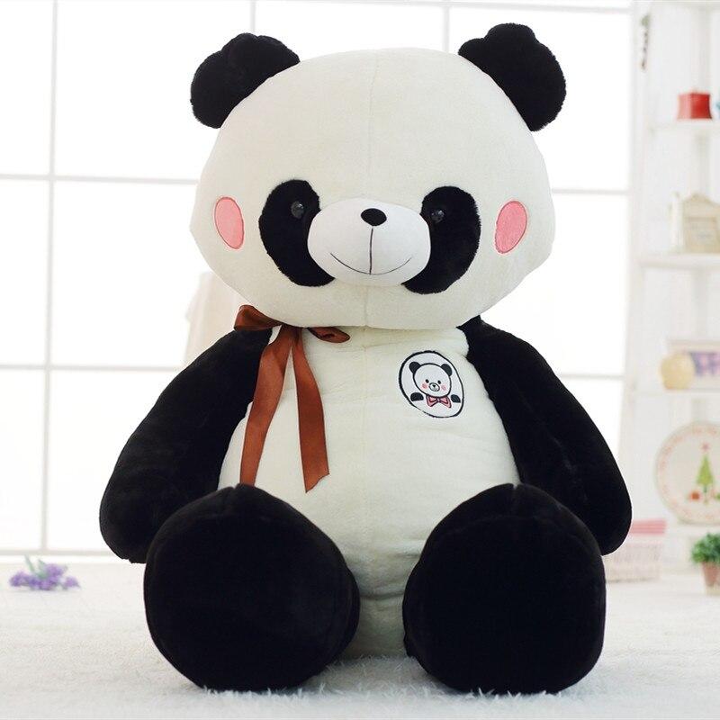 Simulation Plush Panda Toys 60cm Cute Panda Animal Plush Toy Gifts for Kids Girfriend Doll cute simulation fox plush toys kids appease doll gifts