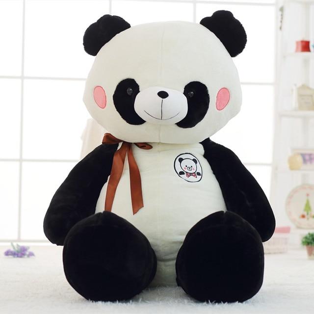 simulation plush panda toys 60cm cute panda animal plush toy gifts