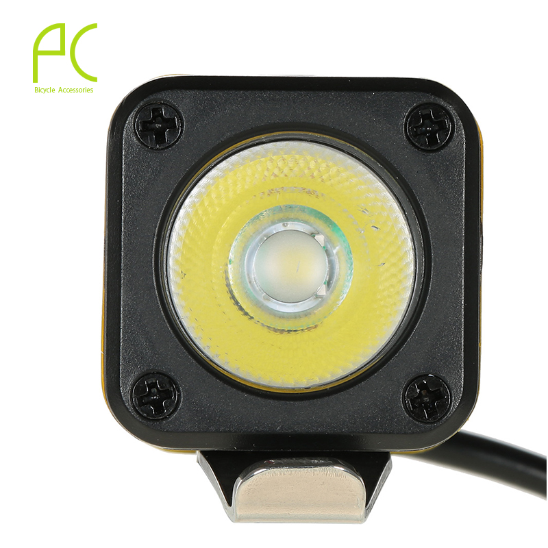 PCycling Bike Light 500 Lumen Bicycle LED Front Light Aluminum USB Charging Smart Cycling Bicycle Headlight Warning Light