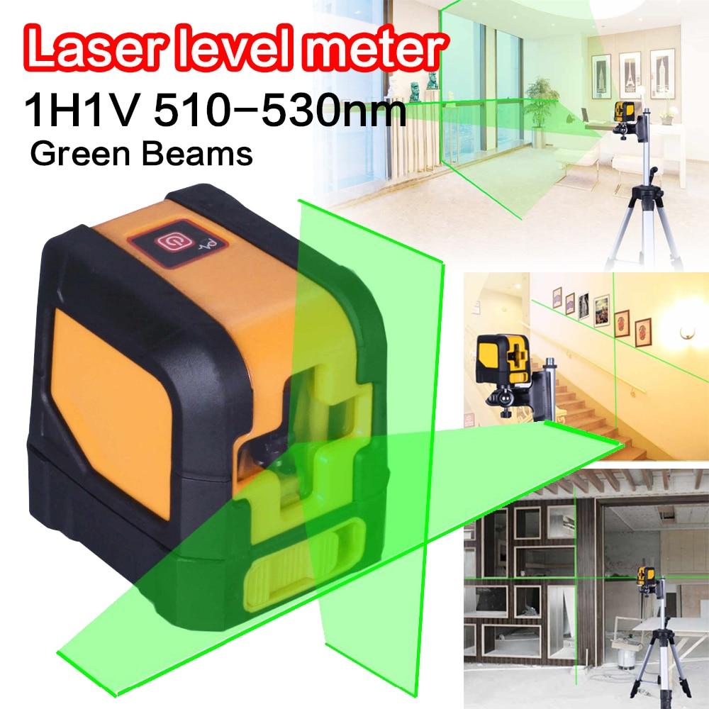 Mini Green Beam Cross MSG20mini 2 Lines Electronic Auto Self Horizontal and Vertical Laser Level Meter Tools electronic level ada prodigit mini