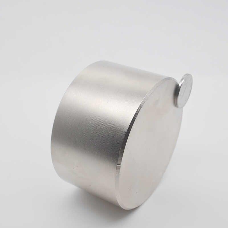 Imán de neodimio redondo superfuerte, 70mm x 40mm, más fuerte y permanente, 1 unidad