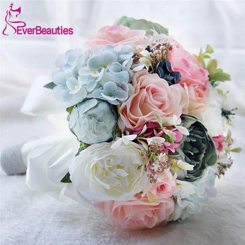 Braut Bouquet Hochzeit Blumen Garten Bouquet Blumen Brautjungfer