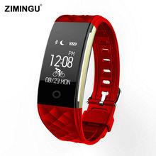 2017 Мода Стиль S2 Спорт Смарт Запястье Браслет Браслет Heart Rate IP67 Водонепроницаемый Bluetooth Smartband Для Женщин