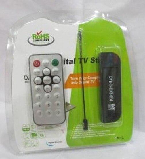 Мини-флешка RTL-SDR FM + DAB USB DVB-T Dongle DVB-T