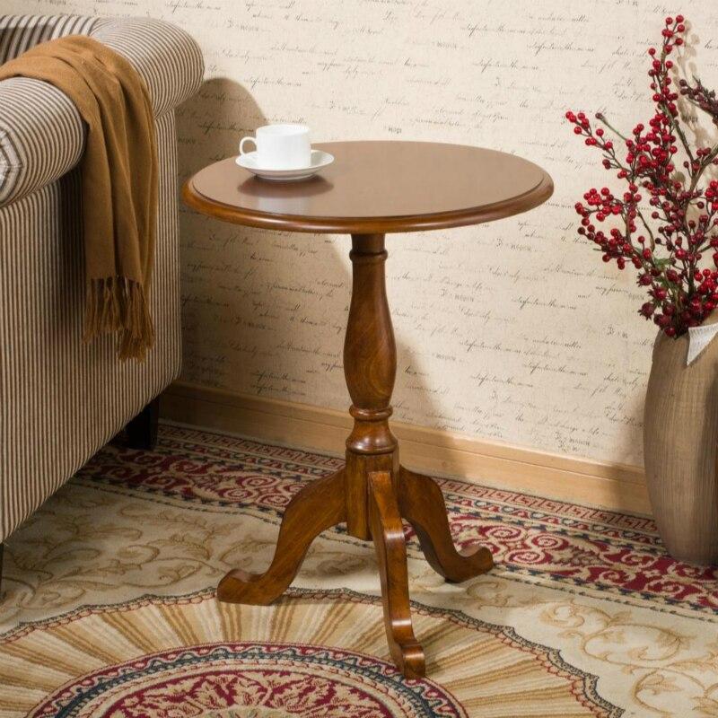 Top blanc brun bois table basse salon meubles table de négociation canapé table d'appoint bois meubles