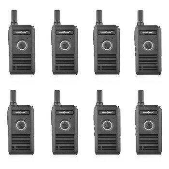 8pcs/lot SOCOTRAN Two way Radio SC-600 UHF walkie talkie 400-470MHz 16CH 2W  Double PTT Ultra Slim breathing Light Design