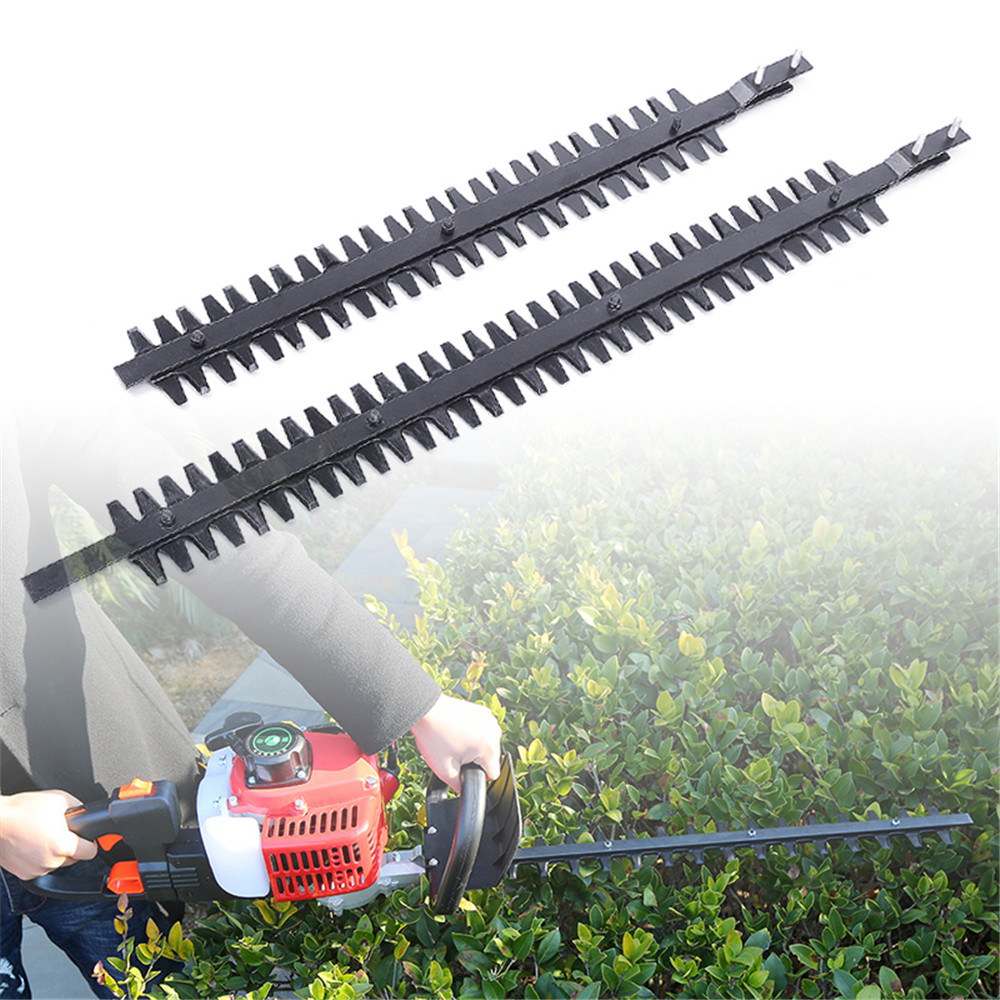 Hedge Trimmer Teeth Pole Cutter High Branch Shear Scissors Upper Lower Blades Bush Cutter Head Grass Trimmers 15 Inch 20 Inch