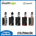 100% original joyetech evic primo con unimax 25 starter kit 200 w powered by dual 18650 baterías en stock