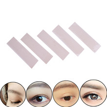 5 Sheets/120 Pcs Gaas Mesh Kant Eyeliner Stealth Dubbele Ooglid Tape Stickers Zonder Lijm(China)