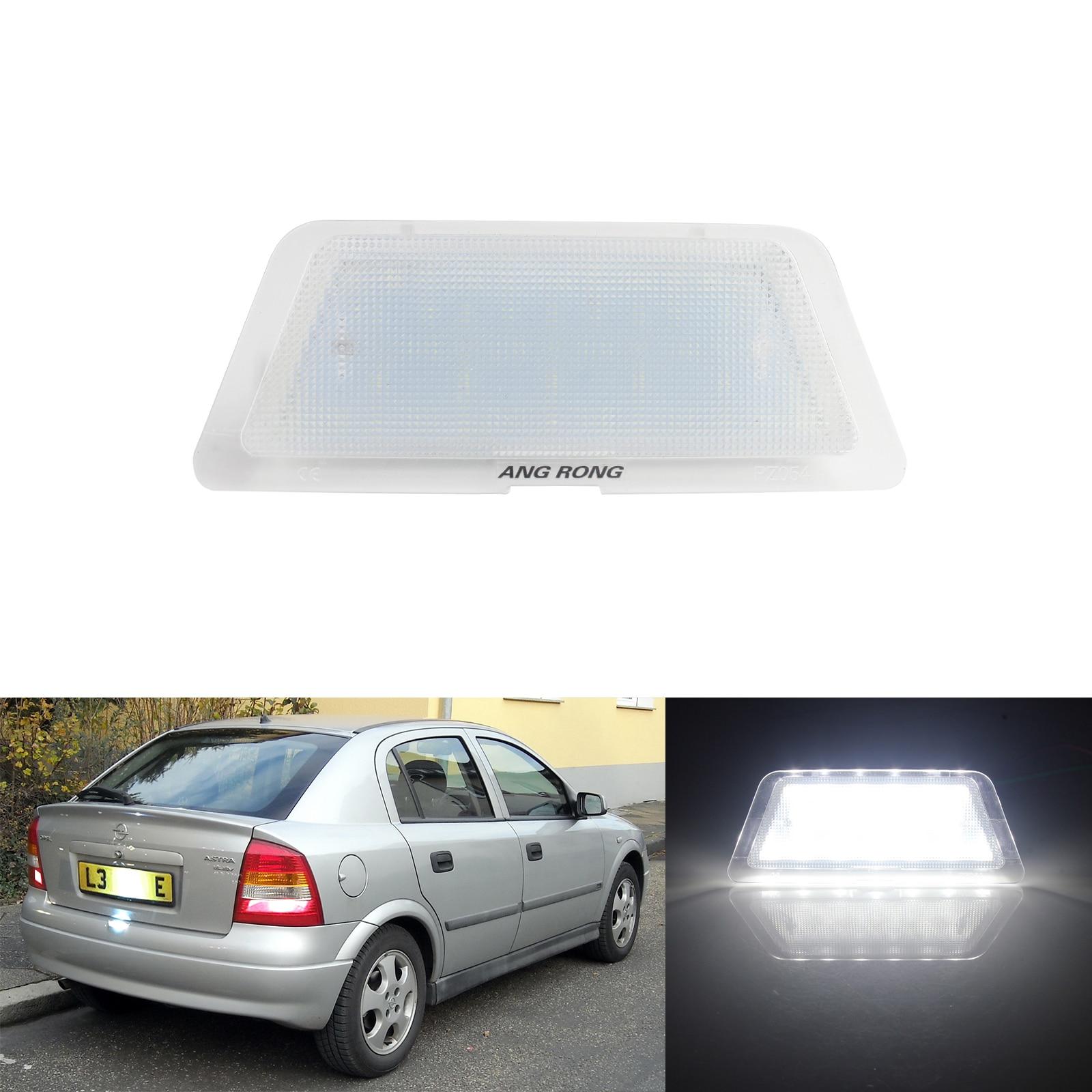 1x Vauxhall Vivaro Bright Xenon White LED Number Plate Upgrade Light Bulb