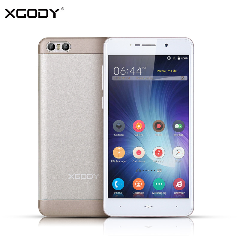 XGODY S10 5 2 Inch Smartphone 3G Dual Sim Cards Android 5 1 MTK MT6580 Quad