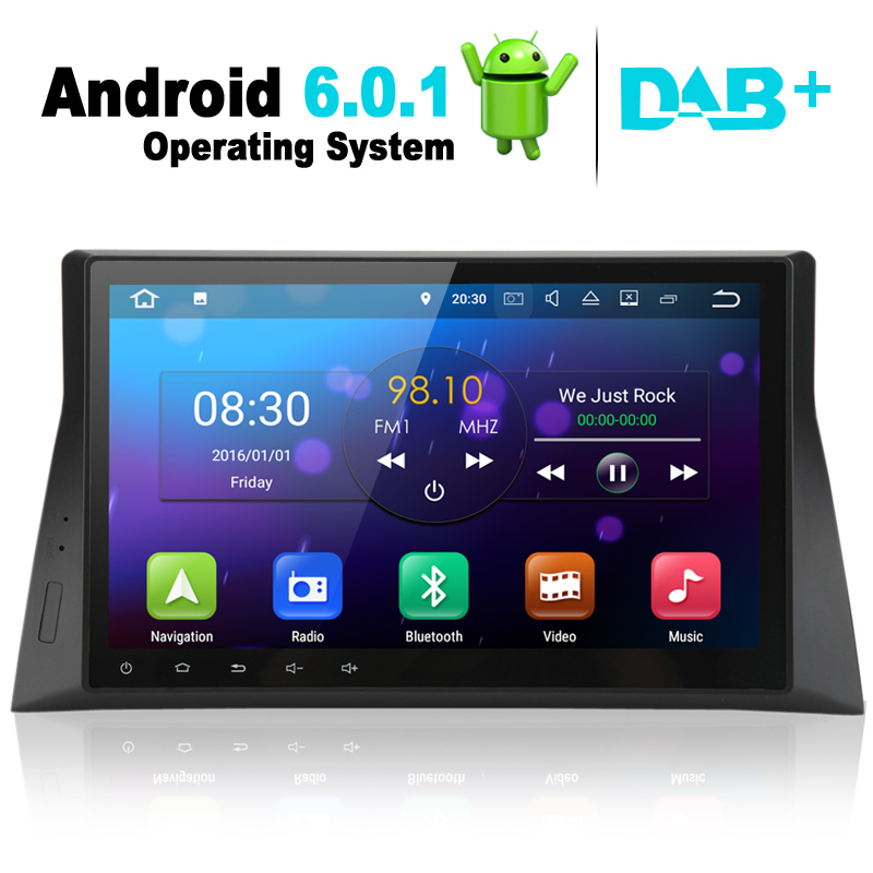 10 1 Inch Android 6 0 Car Dvd Player Gps Navigation System