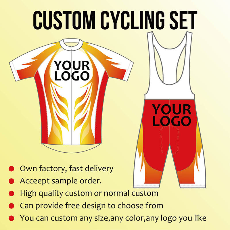 TERENK Custom Cycling Set Short Sleeve Strap BIB Shorts mtb jersey ropa maillot ciclismo cycling clothing Pro Team Customized