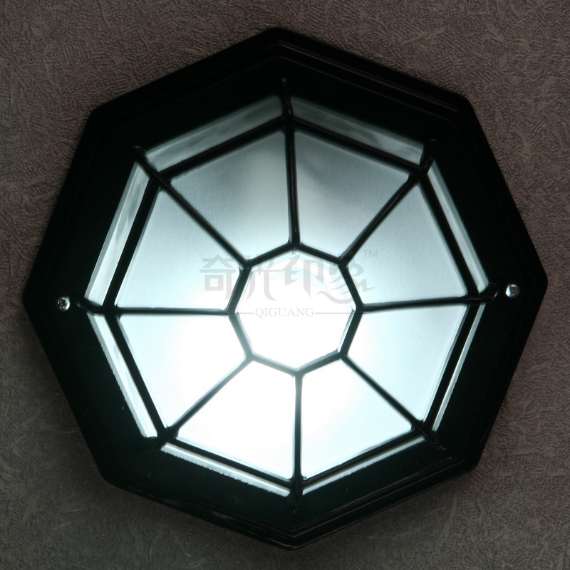 European Octagonal Outdoor Ceiling Lamp Villa waterproof Corridor Hallway Bedroom Balcony Ceiling Lighting Fixtures 2016 new european style full copper wall lamp hallway balcony corridor lighting
