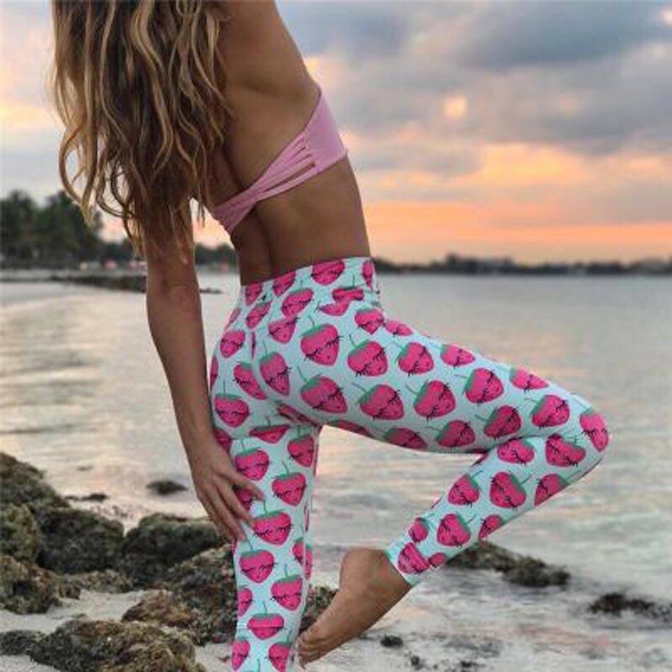 9337b8651f2ee INWIKI Cute Yoga Leggings Flexilexi