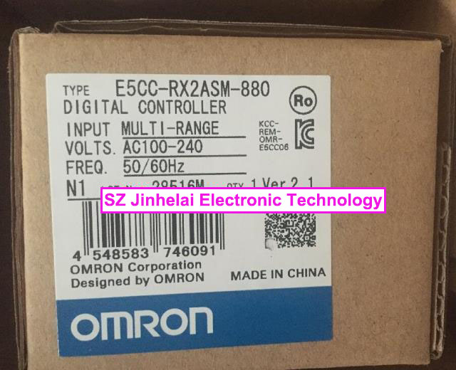 New and original E5CC-RX2ASM-880 OMRON DIGITAL CONTROLLER AC100-240V купить недорого в Москве