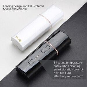 Image 5 - Vape Pluscig B3 calor no quemar vaporizador 1300mAh TC caja de calor kit para iqo sticks cigarrillo electrónico